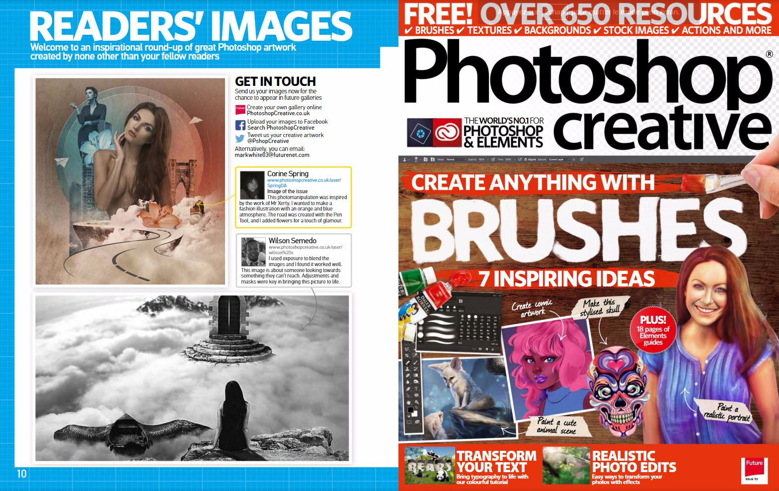 Feature  Issue 153  Photoshop creative