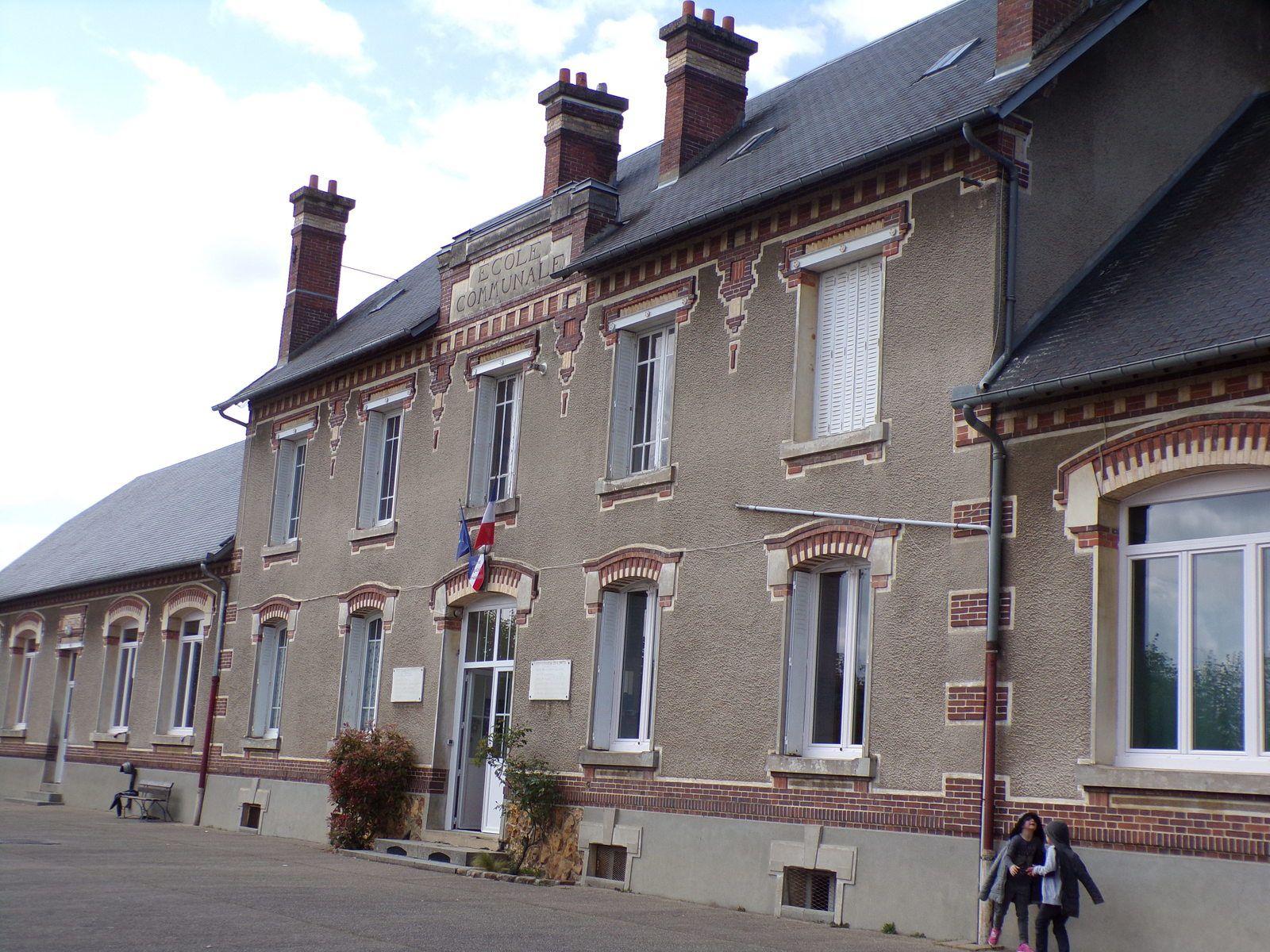 Week-end en Normandie du 28 au 30 avril 2017 (1) : Présentation à l'école de Tillières le 28 avril