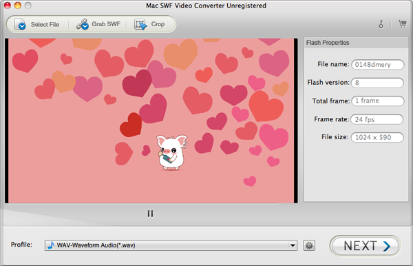convert swf file to mp4