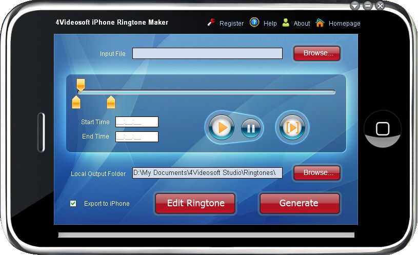 Top 10 applications to create ringtones for iPhone - Get