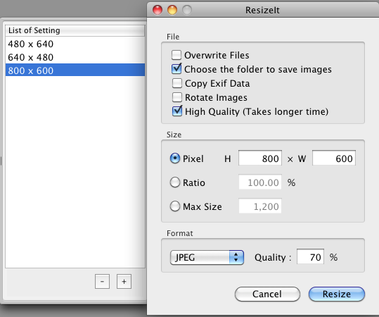 How To Resize Photos On Mac Get Your Problem Solved
