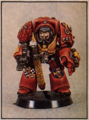 Rogue Trader: Terminator Captain...behind the scene