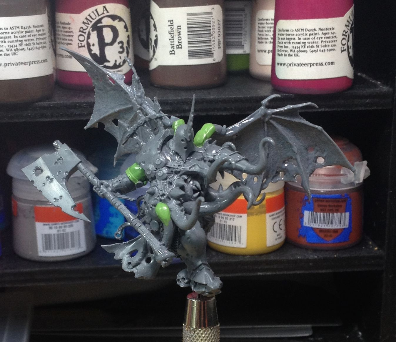 Because Nurgle is good for my brain......
