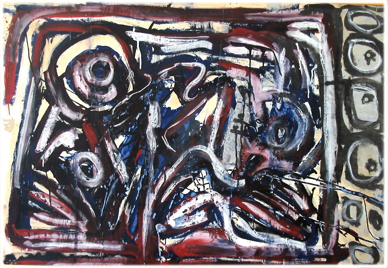5-Technique mixte - 75 x 110 cm.