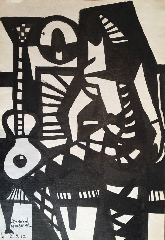 140 - Encre de chine  36 x 26 cm.