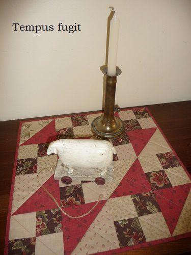 Candle-mat ou la cuisine des restes