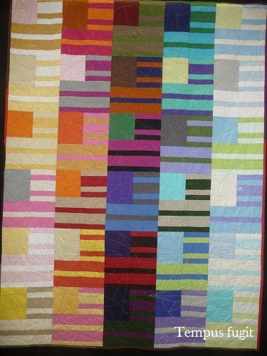 Pour l'Amour du Fil (11) : Modern quilts