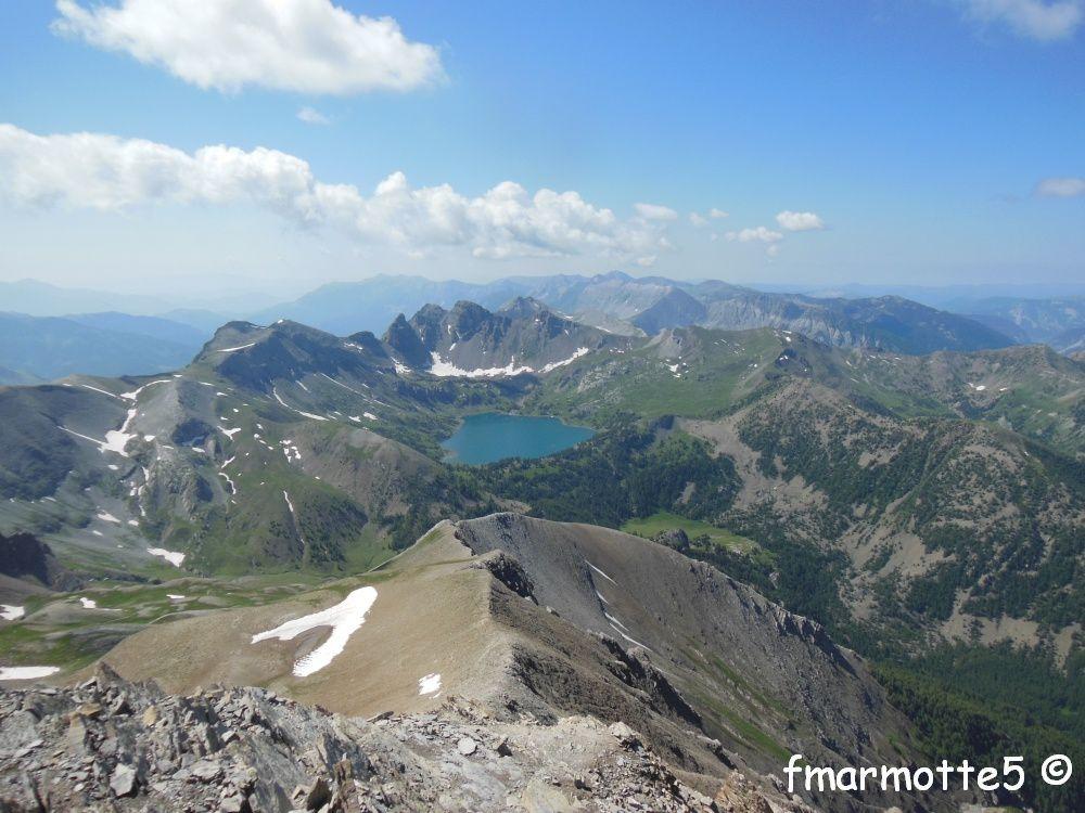 Mont Pelat 3050 mètres, randonnée dans le Mercantour.