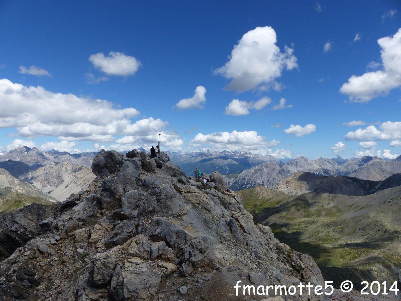 Le sommet du Grand Aréa