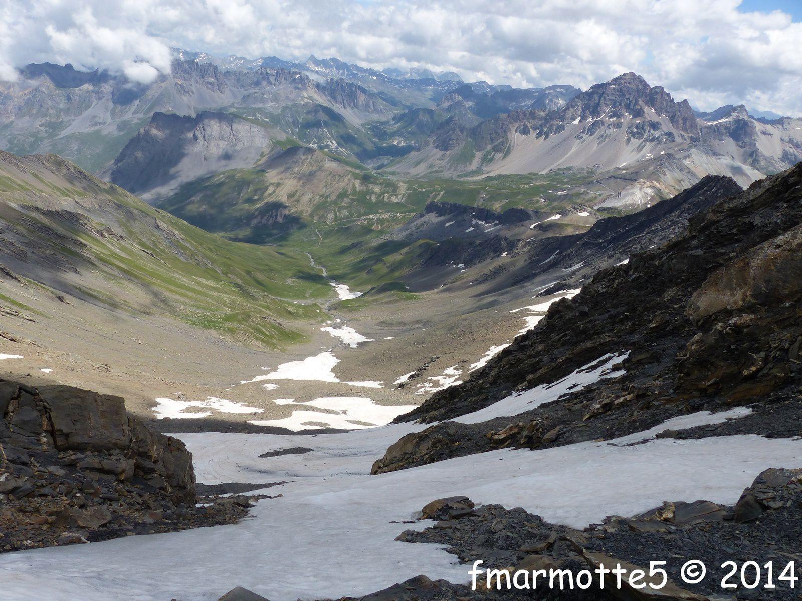Pic des Trois Évêchés 3116 mètres. Randonnée aventure