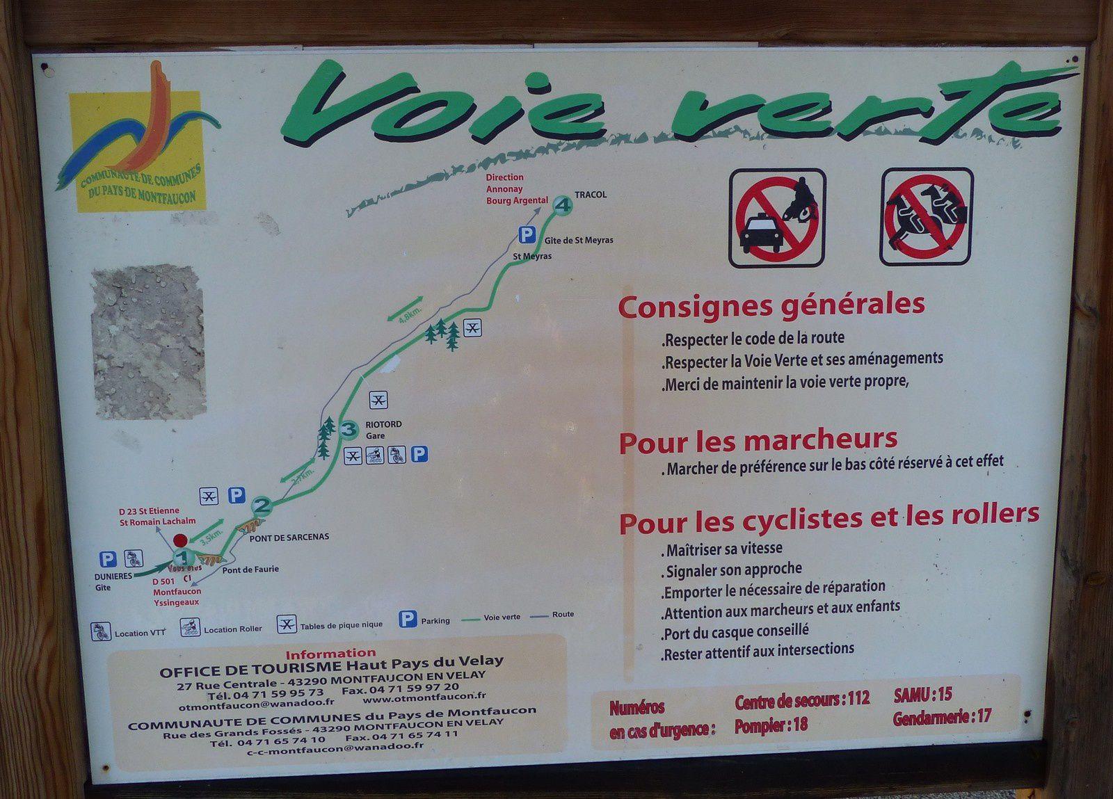 Vélo en Velay.