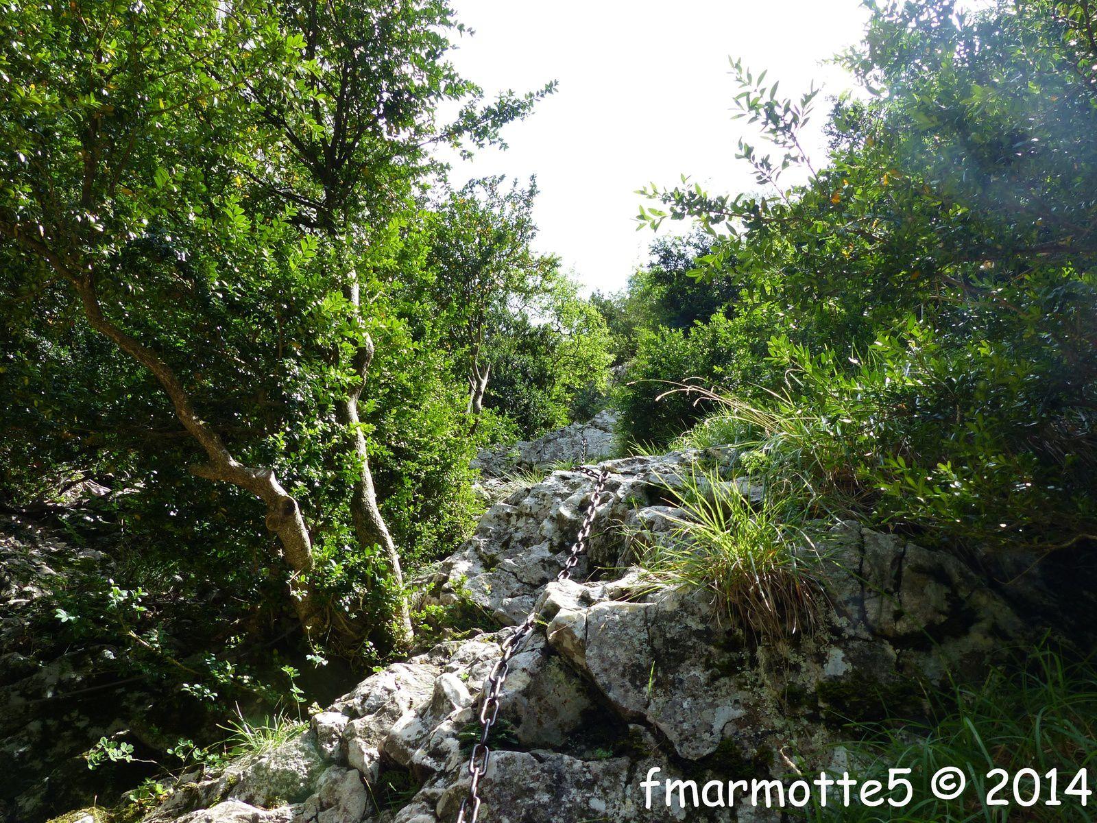 La Montagne de Morettet, la Combe d'Oyans, Vercors Ouest.