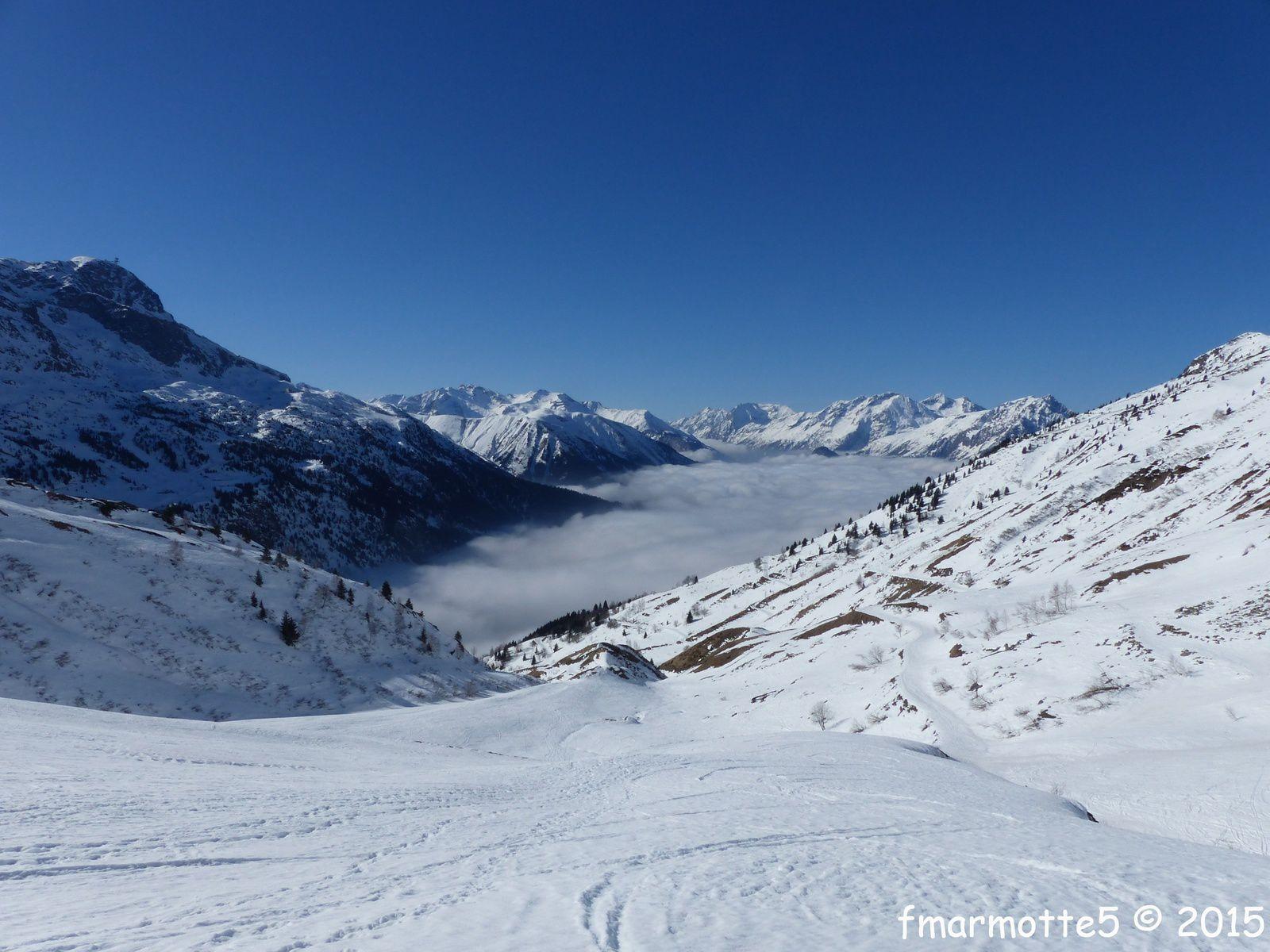 Le Col du Sabot 2100 m. Les Grandes Rousses.