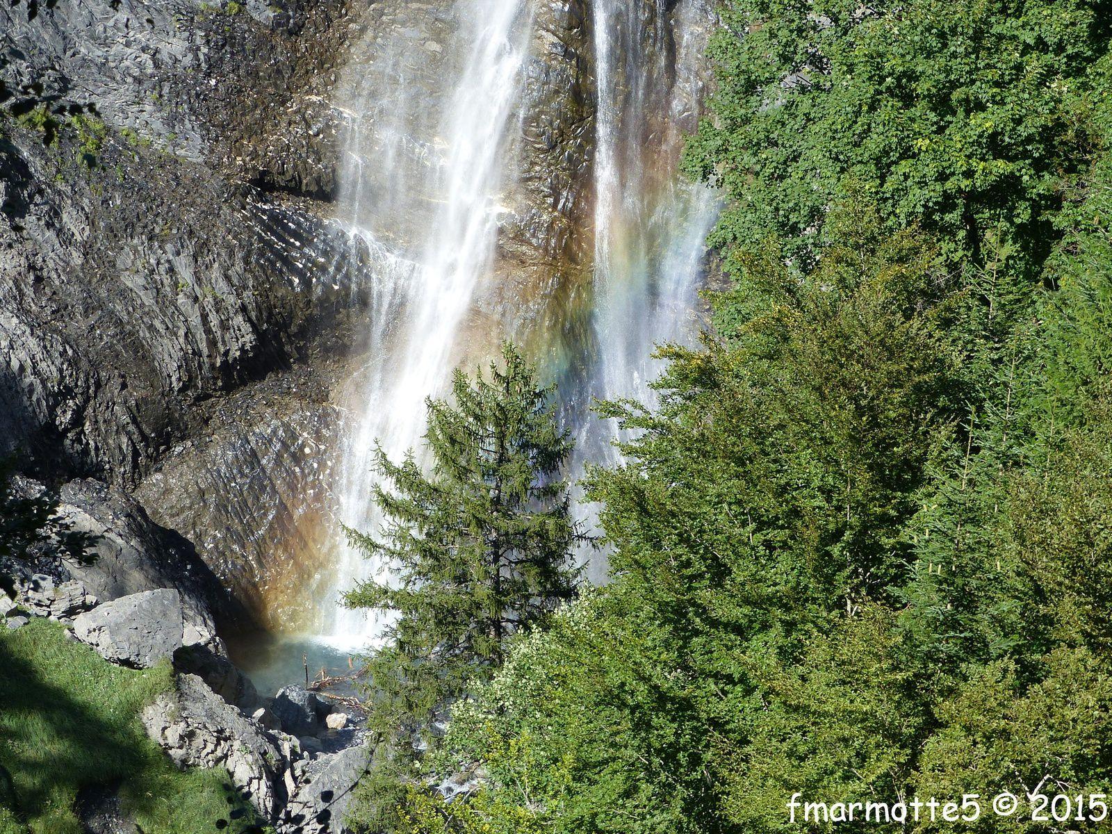 La Cascade de Confolens, Oisans.