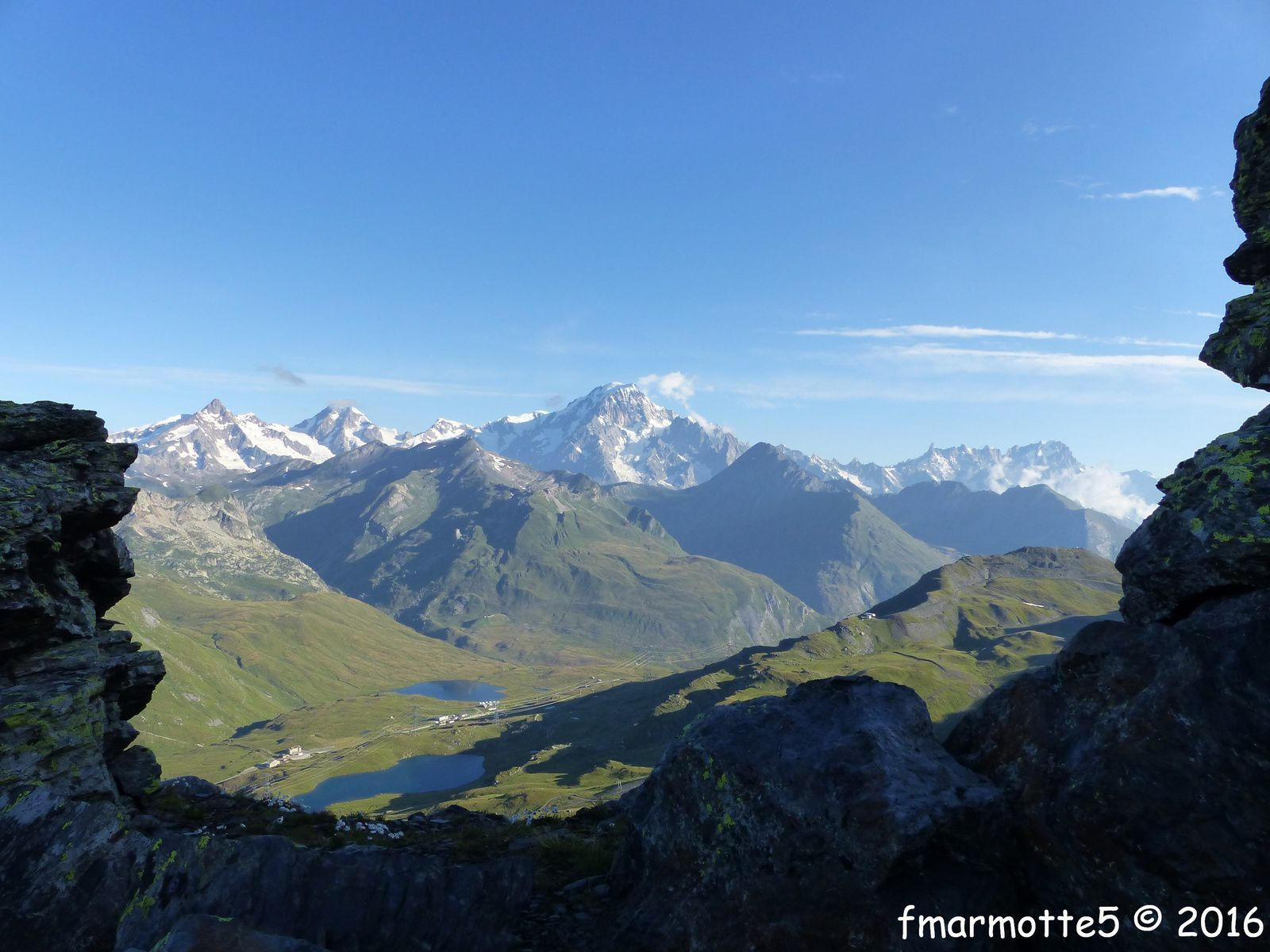 Le Col du Petit Saint Bernard 2188 mètres.