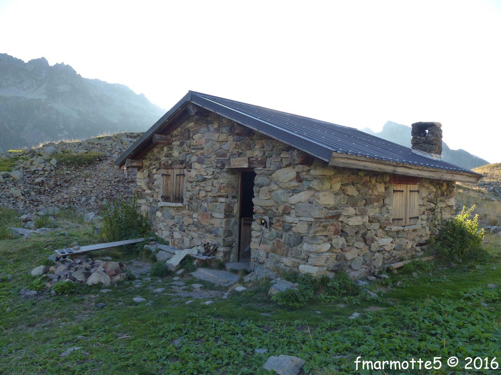 Vallon et col du Merlet, randonnée dans Belledonne J1.