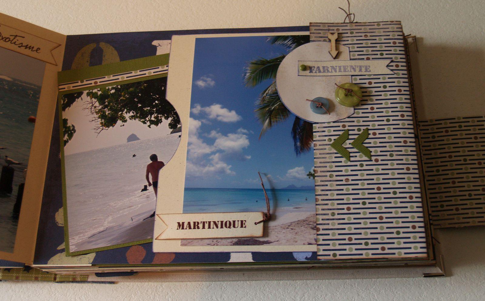 Album &quot&#x3B;d'une île à l'autre&quot&#x3B;