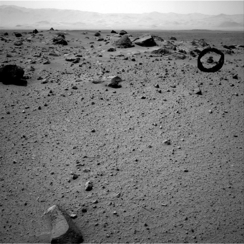 Curiosity a photographié sur mars l'ovni de la Guerre des Mondes le 28 juillet 2013