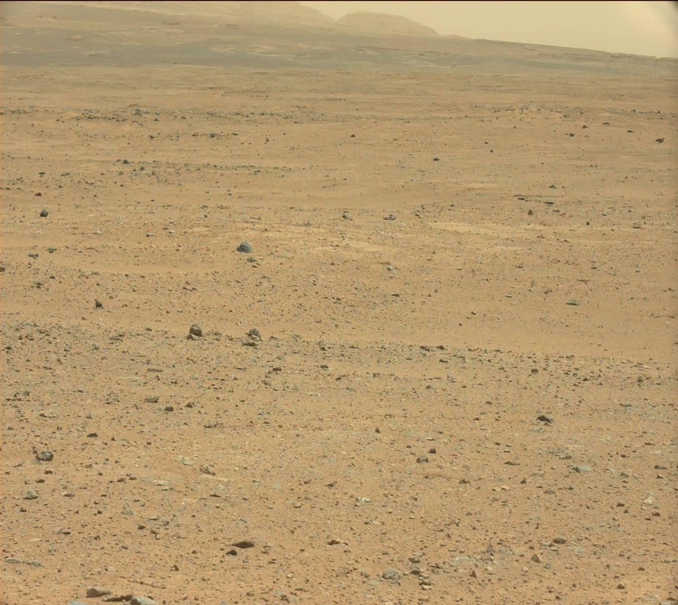 Ces bâtiments sur Mars photographiés par Curiosity le 12 août 2013