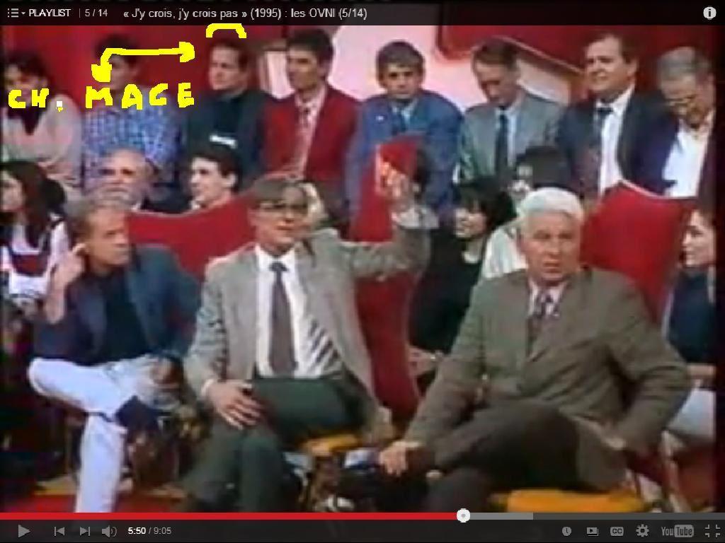 Ovnis et extraterrestres à TF1 J'y crois j'y crois pas le vendredi soir 13 janvier 1995