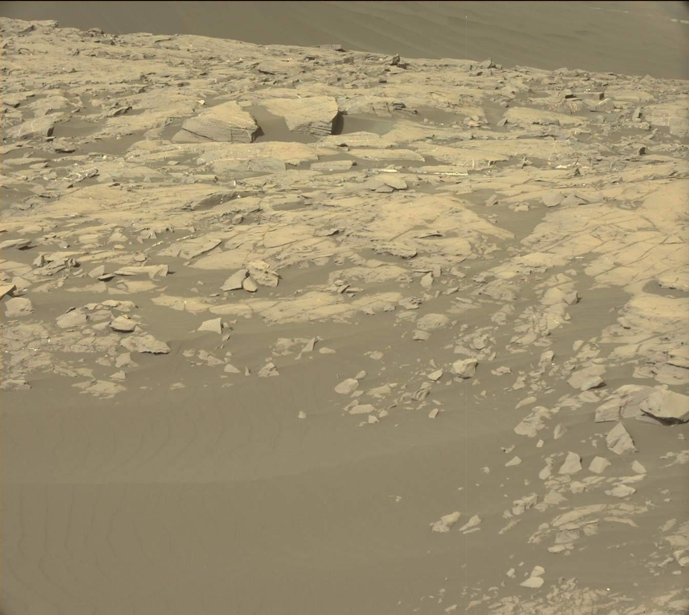 Photo originale Curiosity Nasa sur Mars
