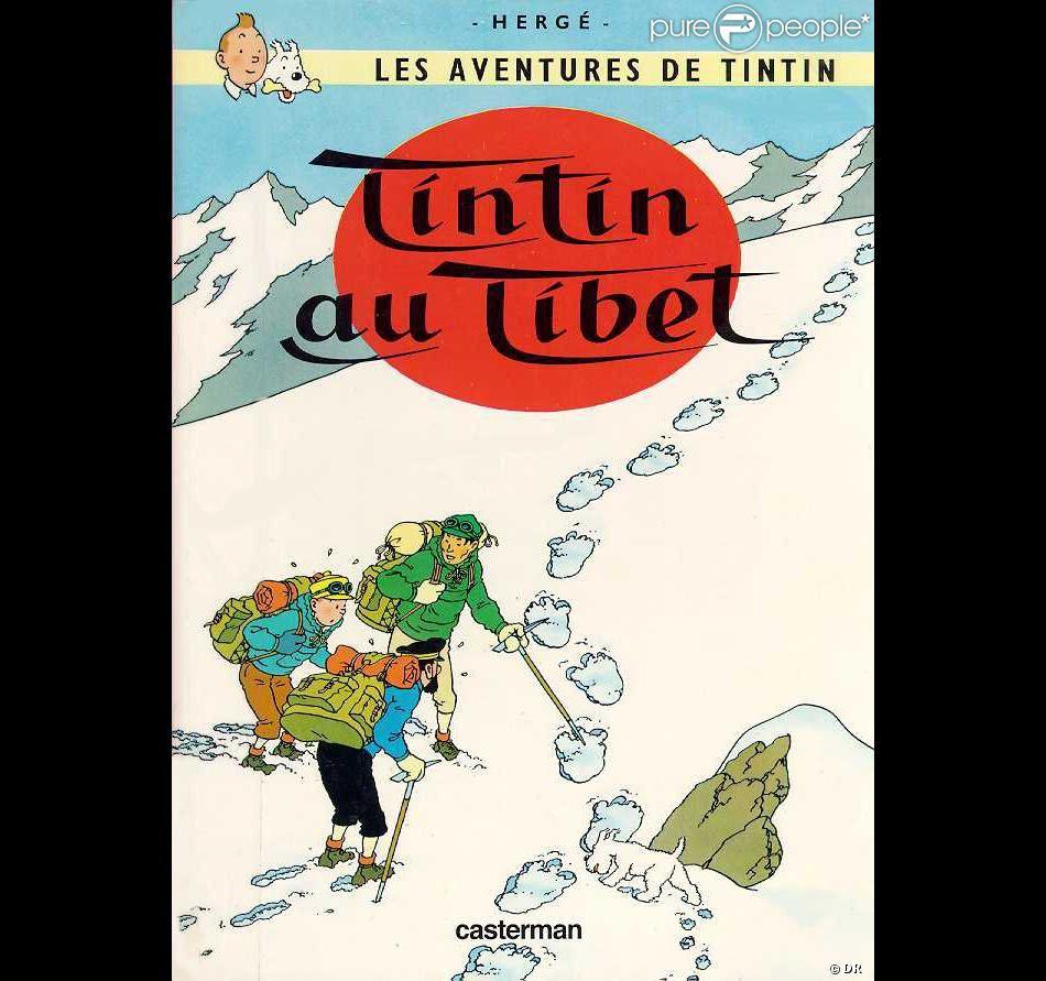 Album : Tintin au Tibet. Les albums sur les aventures de Tintin avaient enchanté ma jeunesse, même maintenant encore...