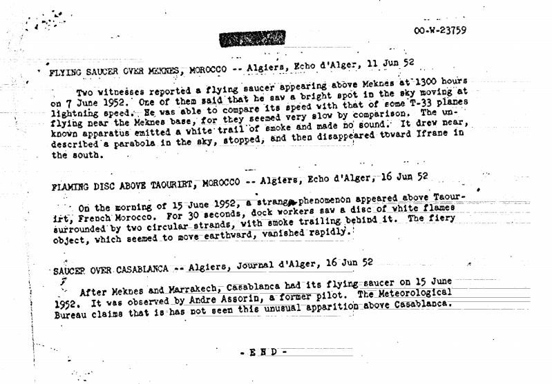 CIA document FIN