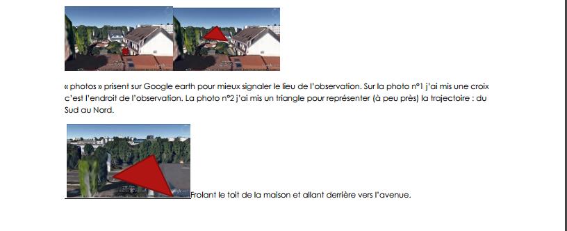Image 2 : suite du rapport de Martine