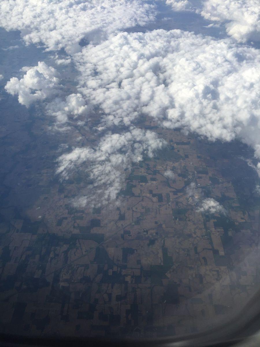 Photo originale du ciel à Green Township, le 30 mai 2016. Rien dans le ciel à ce moment