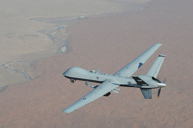 Photo : drone de l'Armée des USA...