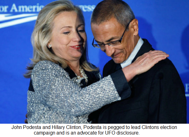 Photo : Hillary Clinton avec John Podesta