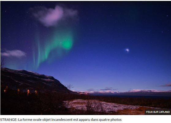 Photo 2 : ovni en Arctique...