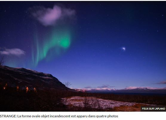 Photo : ovni en Arctique...