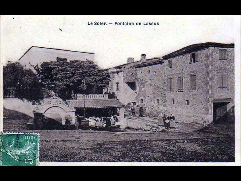 La photo ici est une vue ancienne, une scène figée, à Le Soler, en Pyrénées-Orientales, en France.