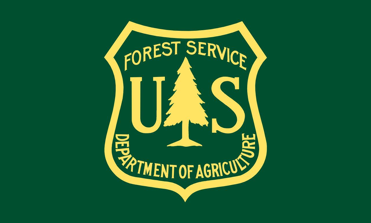 Image : logo de l'US Forest Service, le Service des Forêts des USA...