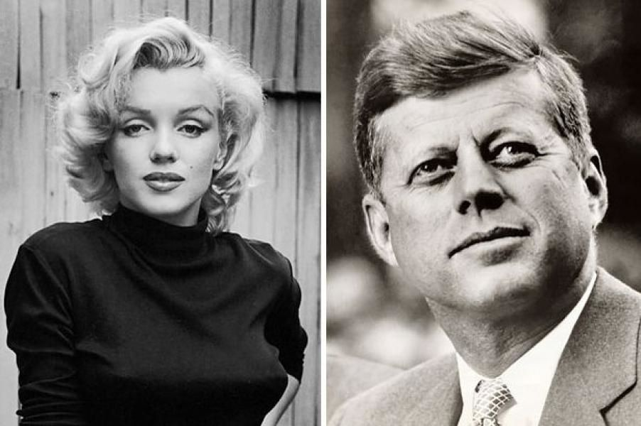 Photo : Marilyn Monroe et JFK.