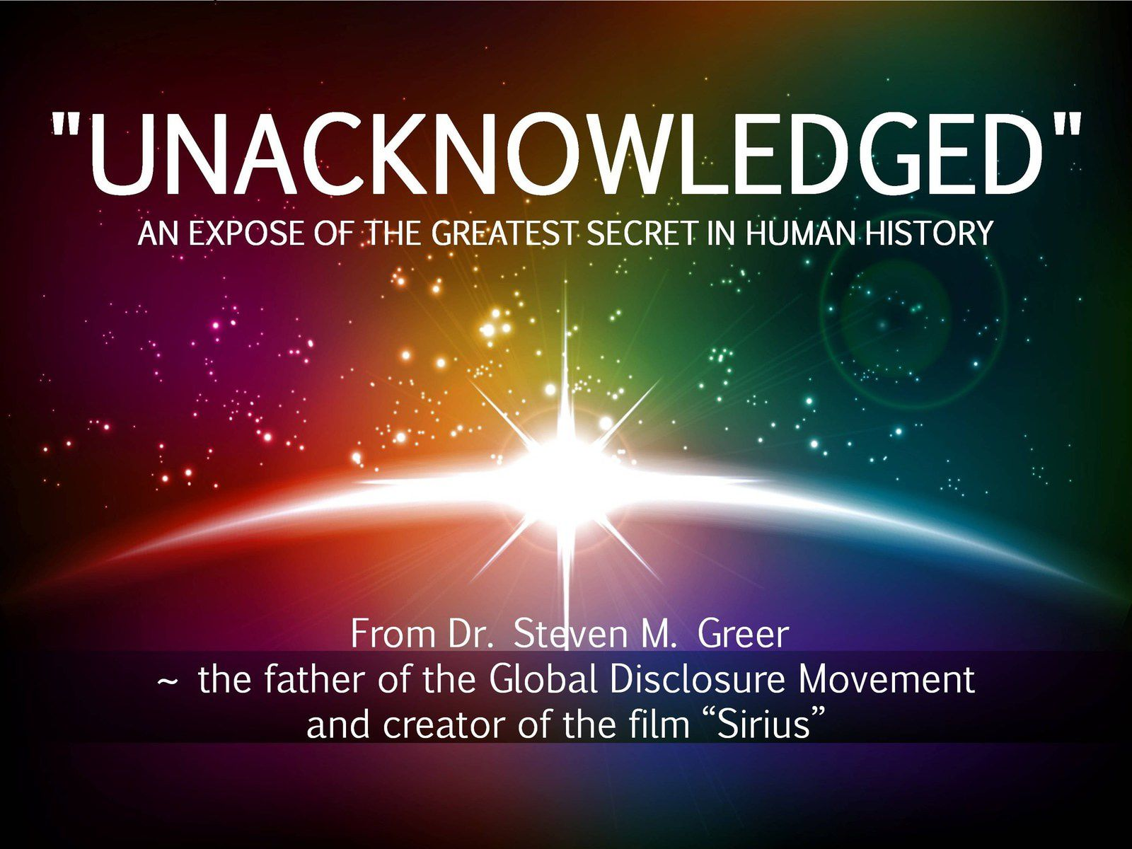 Le documentaire Unacknowledged sur le Grand Secret Ovnis Aliens