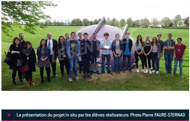 """Crédit photo Pierre Faure-Sternad sur le site du journal """"Le Bien Public""""..."""