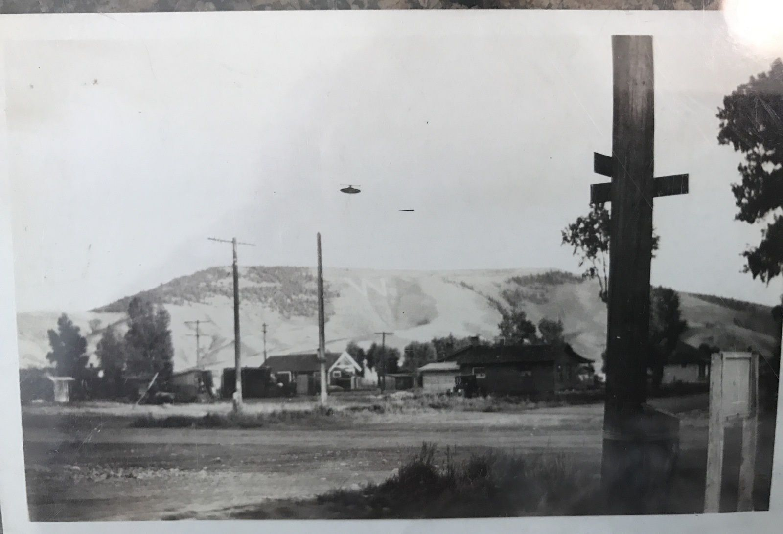 Photo ovni au Colorado, en septembre 1931...