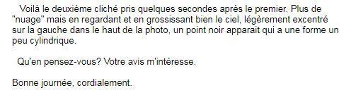 Le second email de la personne.