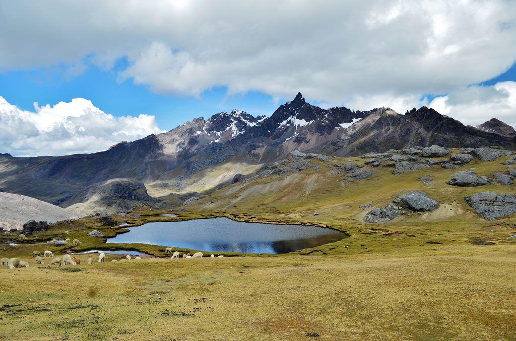 La photo ci-dessus est une vue du lac Yanacocha...