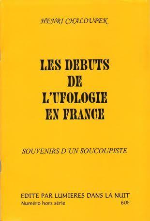 Ci-dessus, l'ouvrage de Henri Chaloupek...