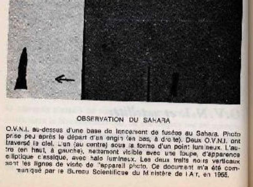 Ovnis photographiés par les Militaires sur une base Française au Sahara