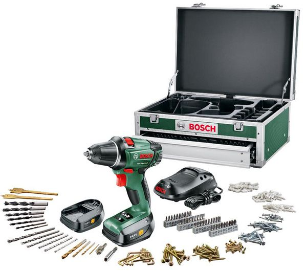 perceuse visseuse sans fil bosch psr 18 li 2 coffret toolbox 2 batteries. Black Bedroom Furniture Sets. Home Design Ideas