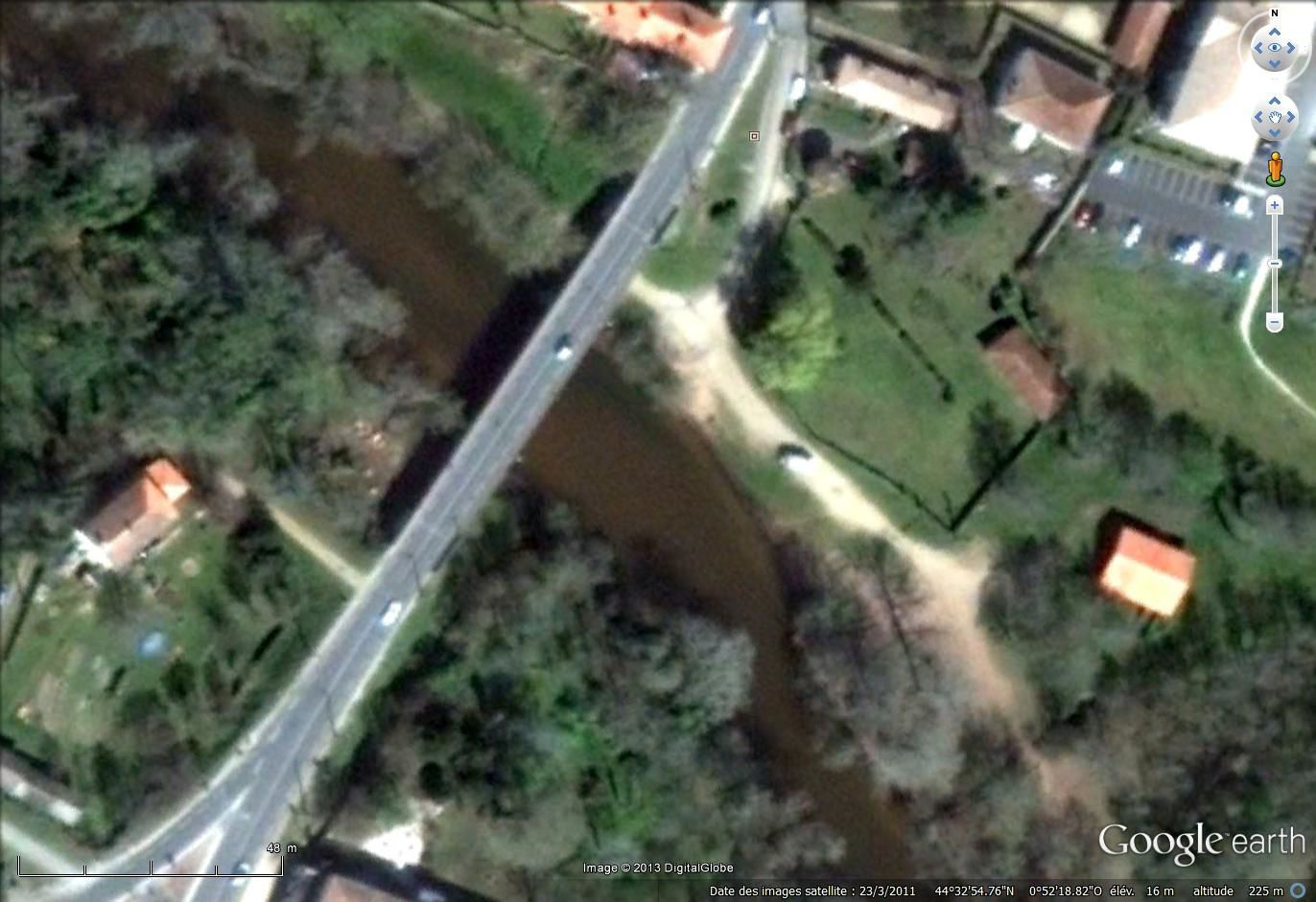 Imagerie satellitale Google earth 2011