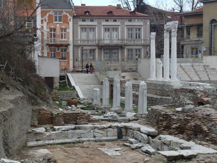 Trimontium, la Plovdiv romaine