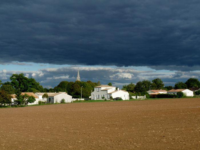 octobre 2013 : de bien beaux jeux de nuages.