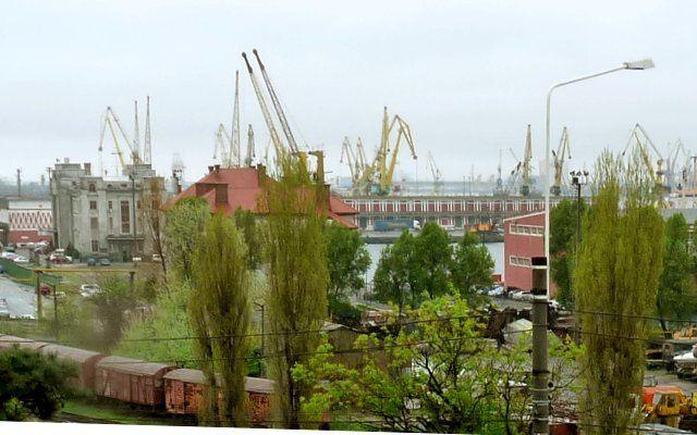 Le port de Constanta en Roumanie sur la Mer Noire