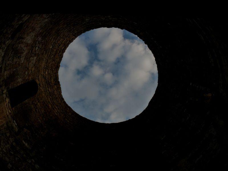 Split : reflet de ciel par pleine Lune