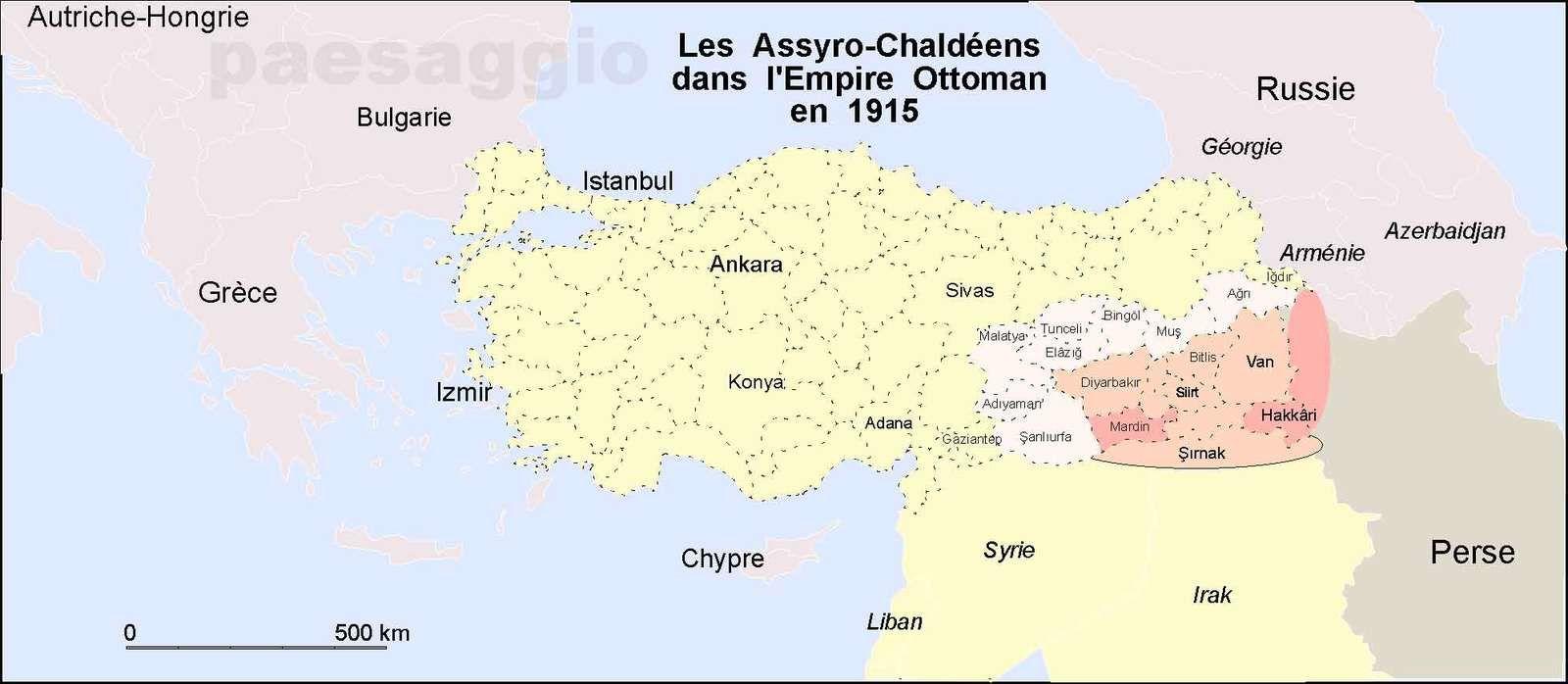 Proche-Orient : le génocide oublié des Assyro-Chaldéens